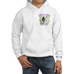 Butterfly Girl Hooded Sweatshirt