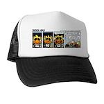 0327 - Spider in the cockpit Trucker Hat