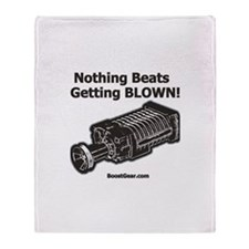 Supercharger Throw Blanket