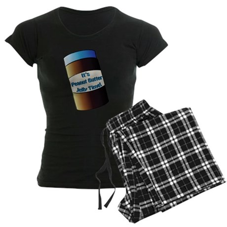 Peanut Butter Jelly Time! Women's Dark Pajamas