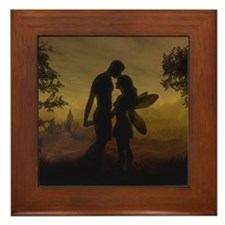 Forbidden Love Framed Tile