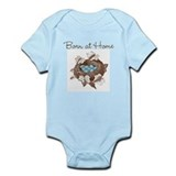 Born at Home baby shirt Infant Bodysuit