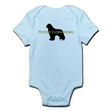 Newf Brother Infant Bodysuit