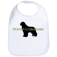 Newf Brother Bib