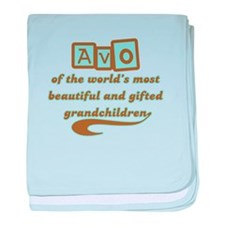 Avo of Gifted Grandchildren baby blanket
