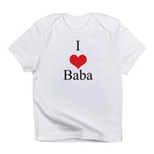 I Love (Heart) Baba Infant T-Shirt