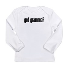 got gramma? Long Sleeve Infant T-Shirt