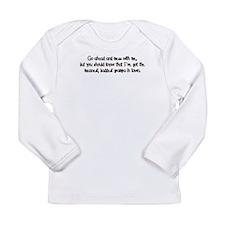 One Bad Grampa Long Sleeve Infant T-Shirt
