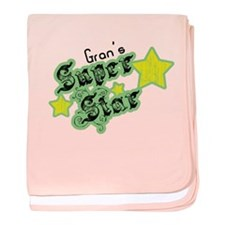 Gran's Super Star baby blanket