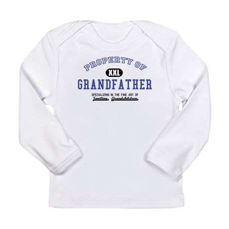 Property of Grandfather Long Sleeve Infant T-Shirt