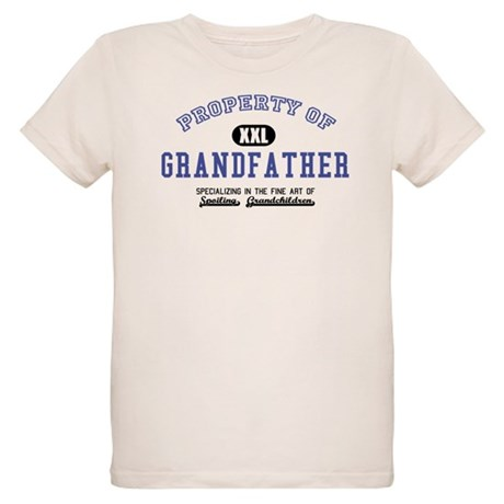 Property of Grandfather Organic Kids T-Shirt