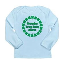 Grandpa is My Lucky Charm Long Sleeve Infant T-Shi