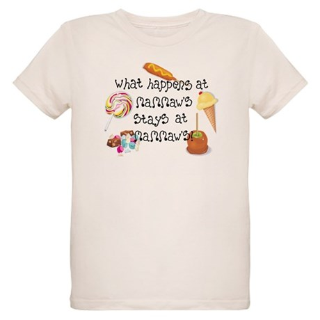 What Happens at Mammaw's... Organic Kids T-Shirt