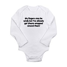Mema's Wrapped Long Sleeve Infant Bodysuit