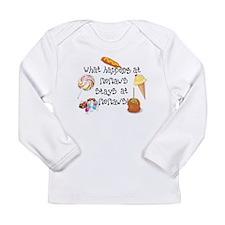 What Happens at Memaw's... Long Sleeve Infant T-Sh