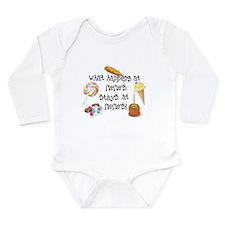 What Happens at Meme's... Long Sleeve Infant Bodys