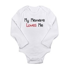 My Memere Loves Me Long Sleeve Infant Bodysuit