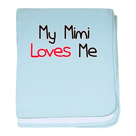 My Mimi Loves Me baby blanket