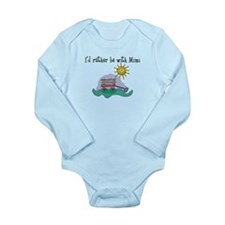 Rather be with Mimi Long Sleeve Infant Bodysuit