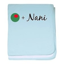 Olive Nani baby blanket