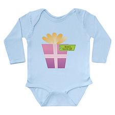 Nonnie's Favorite Gift Long Sleeve Infant Bodysuit
