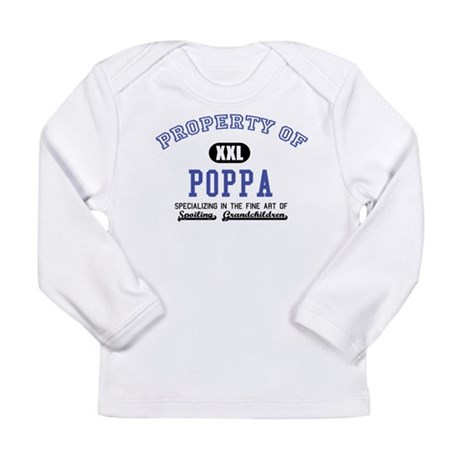 Property of Poppa Long Sleeve Infant T-Shirt