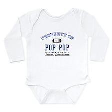 Property of Pop Pop Long Sleeve Infant Bodysuit