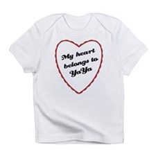 My Heart Belongs to YaYa Infant T-Shirt