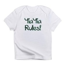YiaYia Rules! Infant T-Shirt
