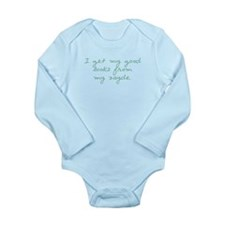 Get my Looks from Zayde Long Sleeve Infant Bodysui