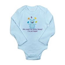 Easter Bunny? I've got Zayde! Long Sleeve Infant B
