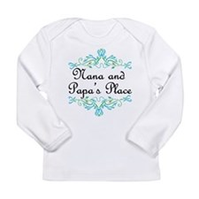 Nana and Papa's Place Long Sleeve Infant T-Shirt