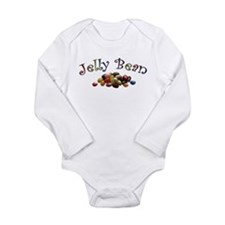 Jelly Bean Long Sleeve Infant Bodysuit