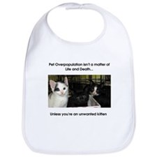 Life or Death Kitten Bib