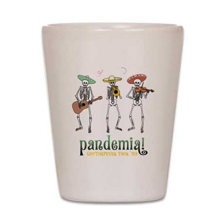 Pandemia! Shot Glass