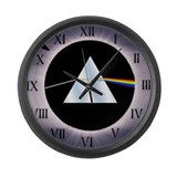 Cool Dark side of the moon Large Wall Clock