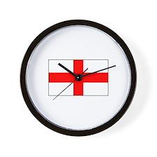 Cross of St. George Flag Wall Clock