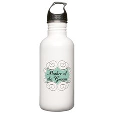 Mother of the Groom Aqua Sports Water Bottle