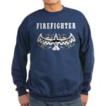 Firefighter Tattoos Sweatshirt (dark)