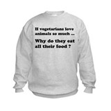 Vegetarians : The Reality Sweatshirt