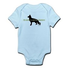 My Sister is a German Shepherd Infant Bodysuit
