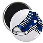 "Blue Basketball Sneakers 2.25"" Magnet (100 Pk"