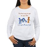 The Best Way Women's Long Sleeve T-Shirt