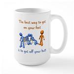 The Best Way Large Mug