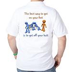 The Best Way Golf Shirt