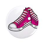 "Pink Basketball Sneakers 3.5"" Button (100 Pk)"