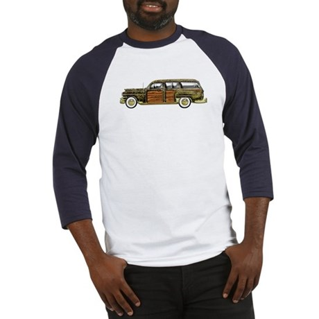 Classic Woody Station wagon Baseball Jersey