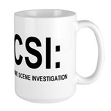 CSI:Crime Scene Investigation Coffee Mug