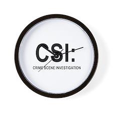 CSI:Crime Scene Investigation Wall Clock