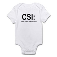 CSI:Crime Scene Investigation Infant Bodysuit